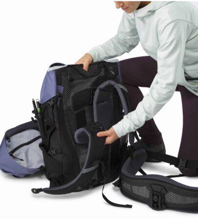 Bora-AR-61-Backpack-Women-s-Winter-Iris-Adjustable-Shoulder-Blades